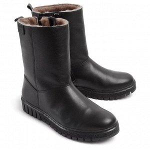 Ботинки зимние женские, черный