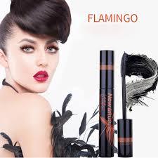 Тушь для ресниц Flamingo (черная, объем), 11 мл.