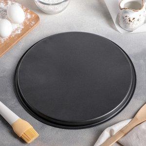 Форма для пиццы Доляна «Жаклин», d=32 см, антипригарное покрытие