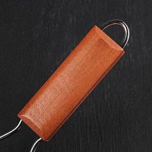 Сковорода-гриль, d=22 см, складная ручка