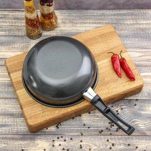 Сковорода «Гретта», 18 см, антипригарное покрытие, бакелитовая ручка