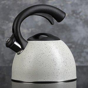 "Чайник со свистком 2,5 л "" Гранит"", МИКС"