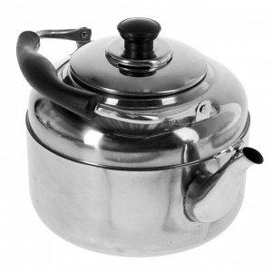 Чайник 4 л Нержавеющая сталь Для электрической плиты/ Для газовой плиты/ Для стеклокерамической плиты 590 г  4 л