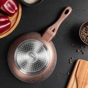 Сковорода кованая «Соты», d=20 см, индукция