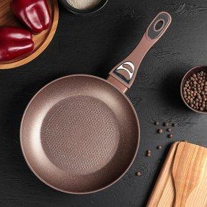 Сковорода кованая «Соты», d=24 см, индукция
