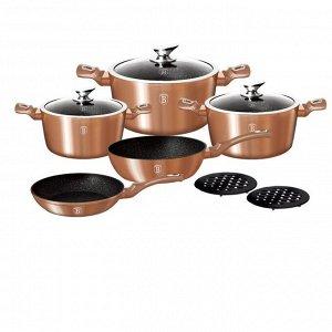 Набор посуды Berlinger Haus Rosegold Line,10 предметов