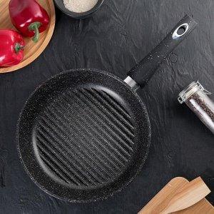 Сковорода-гриль «Гранит», 26х6 см
