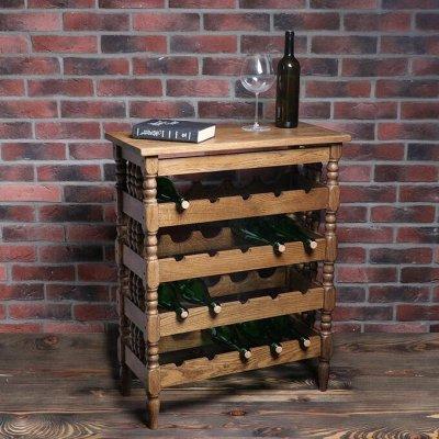 Малые формы мебели - 47 — Подставки под бутылки — Шкафы, стеллажи и полки