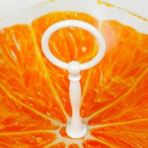 """Конфетница 30 см """"Апельсин. Медуза"""""""