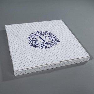 Подставка для торта вращающаяся «Роза», 30 см