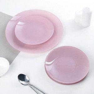 Сервиз столовый «Палитра» на 6 персон: 6 тарелок d=20 см, 1 тарелка d=30 см