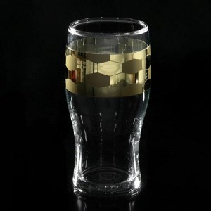 "Набор бокалов для пива 570 мл ""Футбол"", 2 шт"