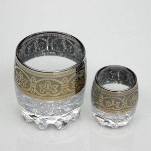 Мини-бар 6 предметов стаканы+стопки, флоренция 250/50 мл