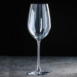 Бокал для вина «Бонитас», 500 мл, с гальваническим покрытием, цвет синий
