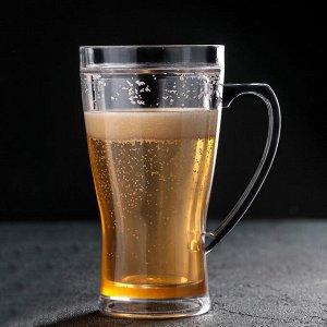 Кружка для пива охлаждающая, 420 мл