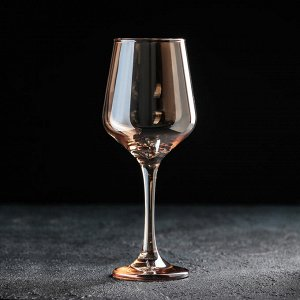 Бокал для вина «Кьянти», 400 мл, цвет золотой