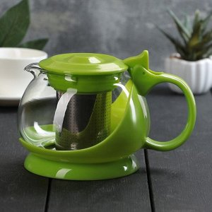 """Чайник заварочный 800 мл """"Бетти"""", цвет зеленый"""