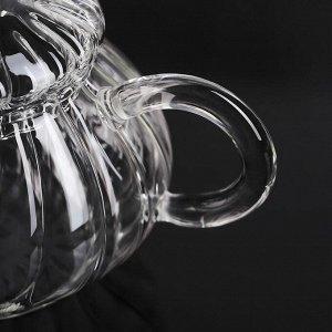 Чайник заварочный «Диана», 150 мл, с металлическим ситом