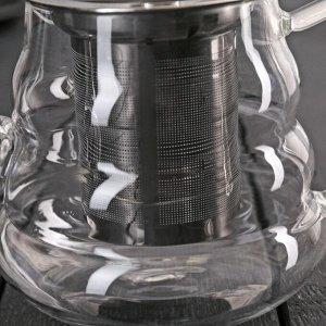 Чайник заварочный «Бриз», 600 мл, с металлическим ситом