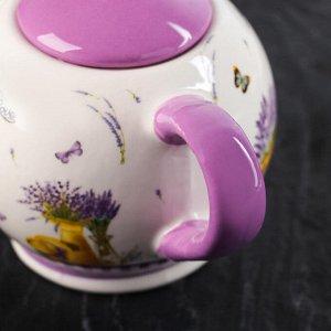 Чайник заварочный «Душистая лаванда», 400 мл, 19,5?12?13 см