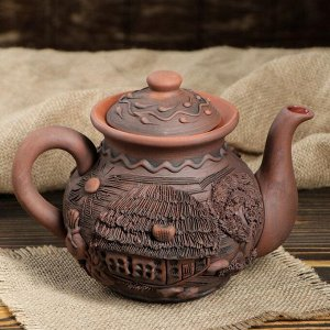 Чайник малый лепка, 1 л