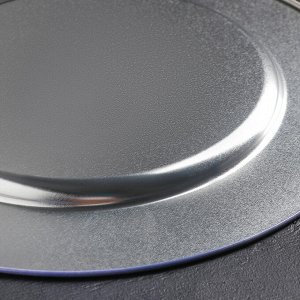 Поднос «Лаванда», 33 см, металлический