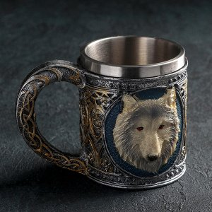 Кружка «Волк», 400 мл
