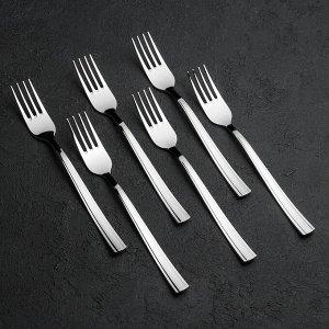 Набор столовых приборов «Торжество», 24 предмета, толщина 2 мм