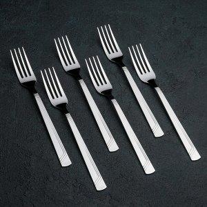 Набор столовых приборов «Аппетит», 18 предметов, толщина 2 мм