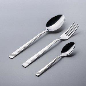 Набор столовых приборов «Аппетит», 18 предметов, в картонной коробке «Витрина»