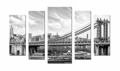 ♥ Картины и Часы - 63 ♥ Новинки!  — Модульные картины-Город № 2 — Картины