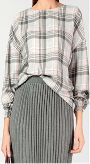Нежная блузка в стили кэжуал