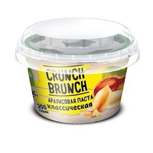 Crunch-Brunch, Паста арахисовая Crunch-Brunch 200 г - классическая