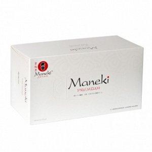 "Салфетки бумажные ""Maneki"" Black&White с ароматом жасмина, 2 слоя, 224 шт./коробка"