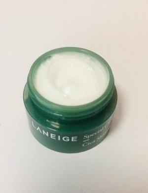Laneige Cica Sleeping Mask Ночная восстанавливающая маска для проблемной и чувствительной кожи 10мл