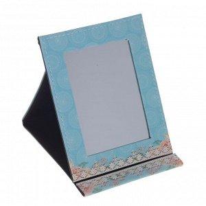 Зеркало настольное, L13 W1 H17 см