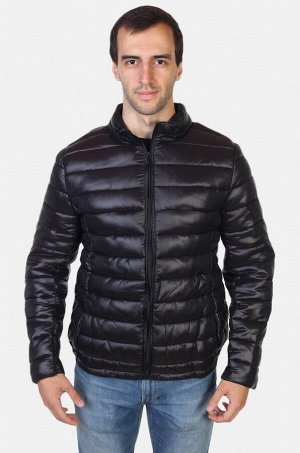 Демисезонная стеганая мужская куртка FOX (Израиль) - трендовая модель в городском полуспортивном стиле №500