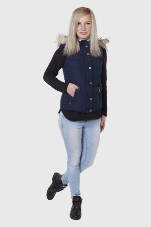 Утепленный жилет с капюшоном от Aeropostale (США). Классная модель для девушек, которые всегда в тренде! №835 ОСТАТКИ СЛАДКИ!!!!