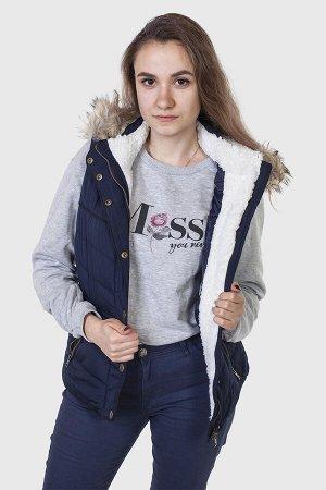 Стильный утепленный жилет от Aeropostale (США). Классная модель для стильной девушки. №835 ОСТАТКИ СЛАДКИ!!!!