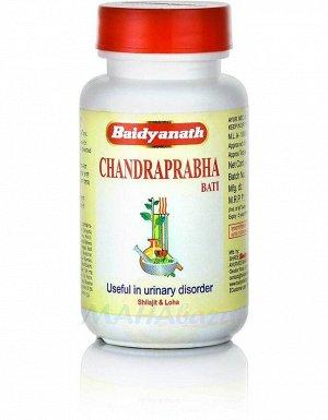 Baidyanath Ayurveda Chandraprabha Vati / Байдианат Чандрапрабха вати 80таб.