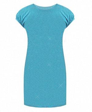 Голубое нарядное платье для девочки 76326-ДН17