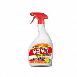 """Чистящее средство """"BISOL"""" для КУХНИ (с ароматом лимона) пульверизатор 900 мл"""