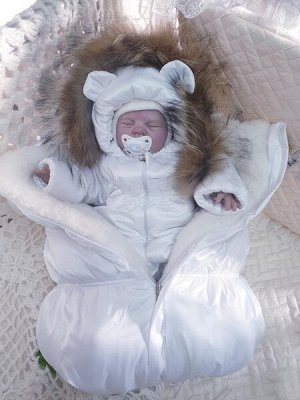 Зимний костюм (комбинезон+конверт)