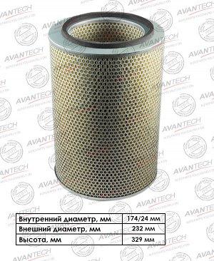 Фильтр воздушный Avantech AF0810