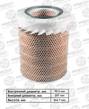Фильтр воздушный Avantech AF0529