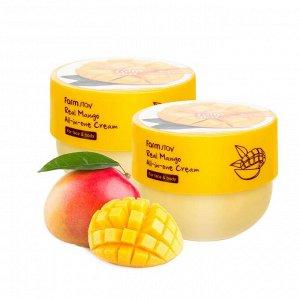 FarmStay Real Mango All-in-one Cream Многофункциональный крем для лица и тела с экстрактом манго 300 мл