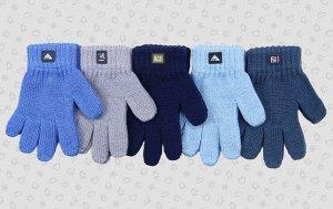 Перчатки Перчатки. Размер: 12 (1-2 года). Состав: 50% хлопок 50% акрил. Подклад: Без подклада
