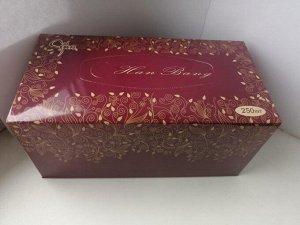 """Бумажные салфетки """"Hanbang"""" 2-х слойные, картонная коробка"""