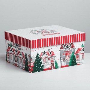 Складная коробка Sweet home, 31,2 ? 25,6 ? 16,1 см