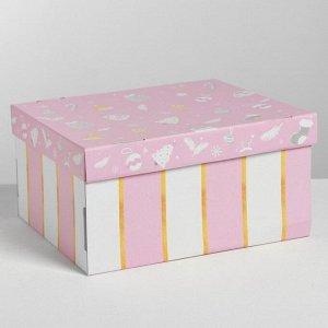 Складная коробка «Нежность», 31,2 ? 25,6 ? 16,1 см